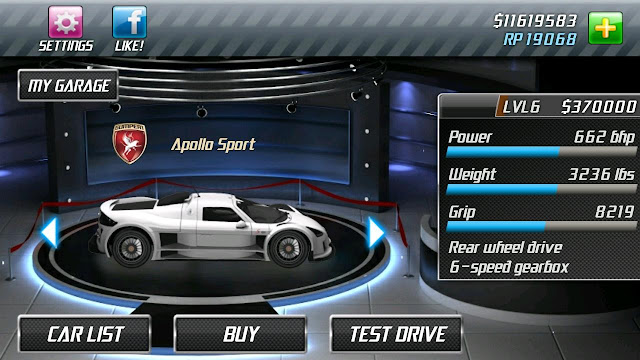 Download Drag Racing Mod Unlimited Money