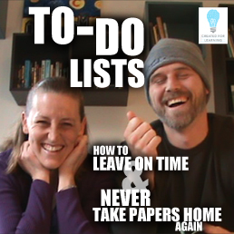 Today, we're talking about how much To-Do Lists can help us teachers save time and stay focused in our classrooms.