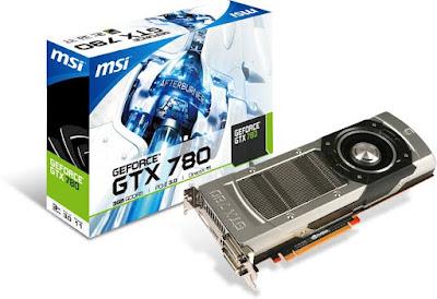 NVidia GeForce GTX 780最新ドライバーのダウンロード