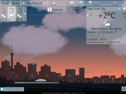 YoWindow meteo animato su PC