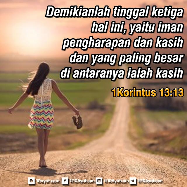1 Korintus 13:13