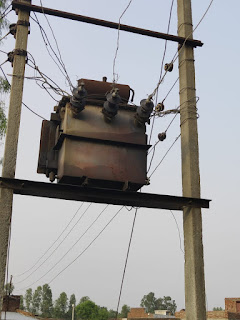 Electric Office Do Not Repair Transformer News In Hindi Uttar Pradesh