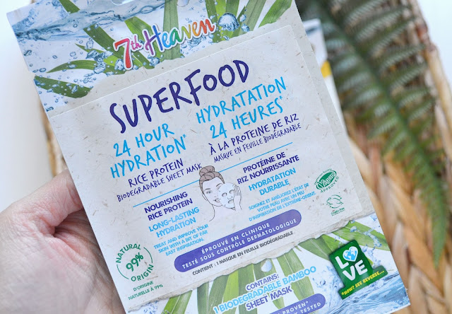 7th Heaven Superfood Mask Rice Protein