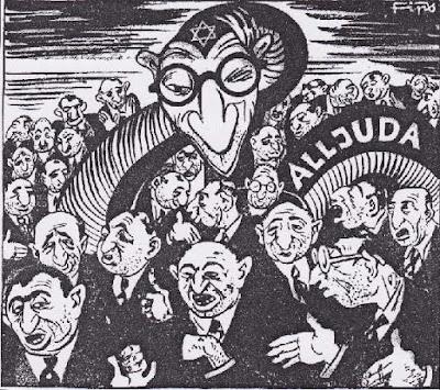 Nazi cartoon