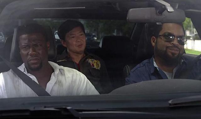 Ice Cube, Ken Jeong şi Kevin Hart: Ride Along 2