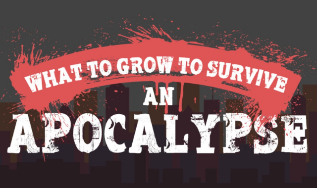 What Should You Grow to Get through an Apocalypse?