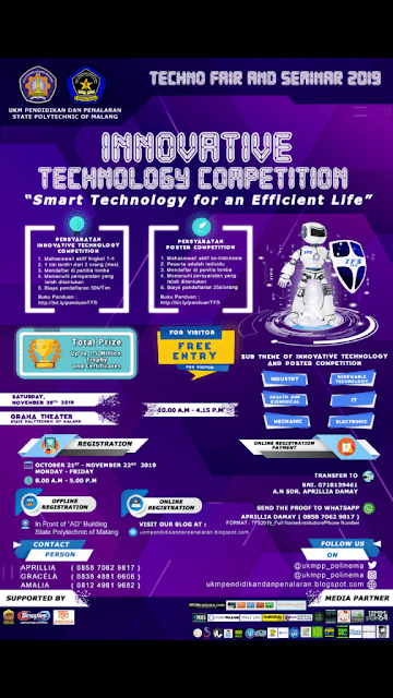 TECHNO FAIR AND SEMINAR 2019 Politeknik Malang