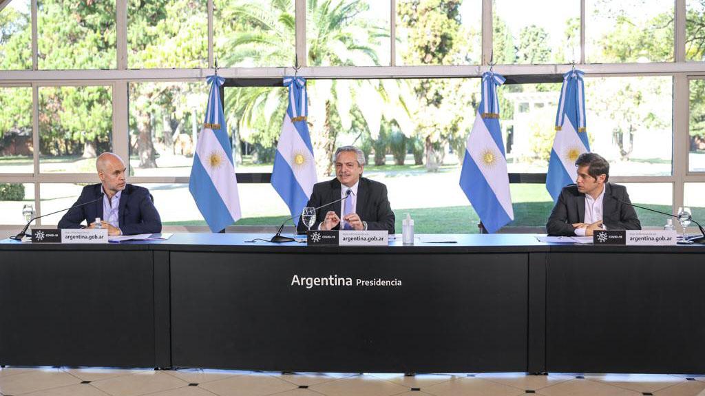Alberto Fernández anunció una cuarentena estricta entre el 1 y el 17 de julio para el AMBA