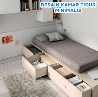 desain kamar tidur praktis