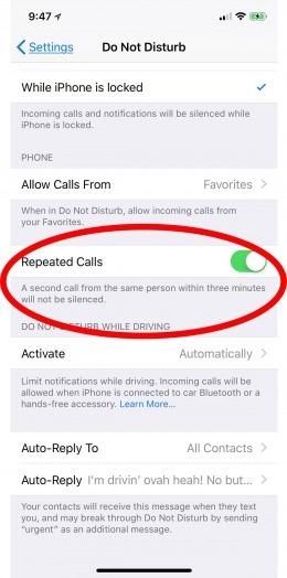هناك 4 علامات تدل علي ان هناك من قام بحظر رقمك علي ايفون