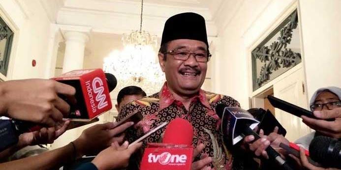 Djarot Minta Jokowi tidak Pindahkan Ibu Kota