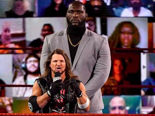 Omos AJ Styles New Day Raw Tag Team