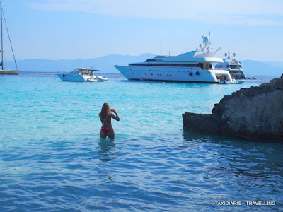 the latest 895ec c3459 Voutoumi bluest water outside the Caribbean…