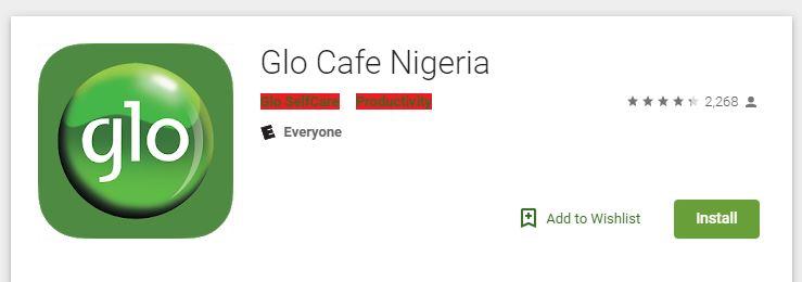 Glo Cafe App