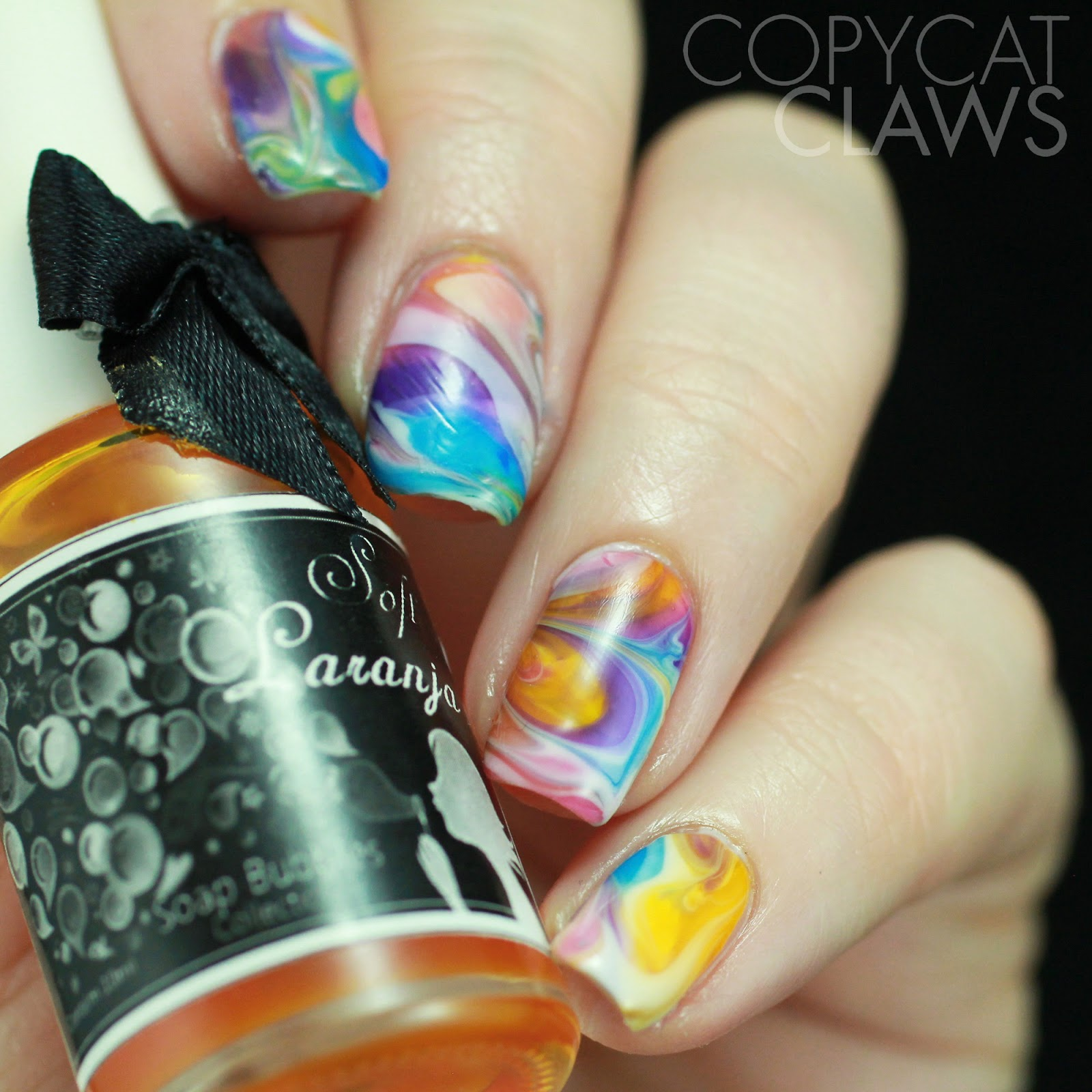 Copycat Claws 26 Great Nail Art Ideas Drag Or Dry Marble