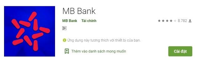Tải và cài đặt App MB Bank