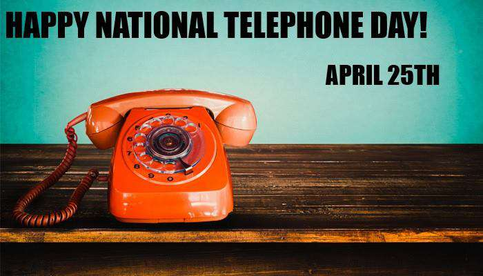 National Telephone Day Wishes Unique Image
