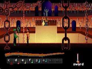 Pantallazo videojuego Loom
