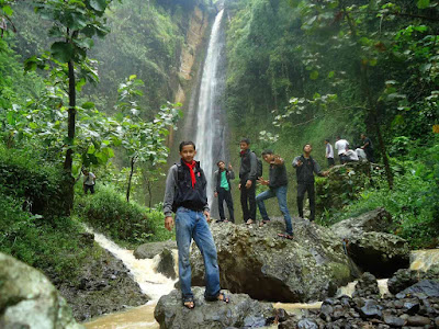 Holiday in Sidoharjo waterfall