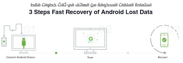 كيفية استعادة الملفات المحذوفة من الموبايل مجانا
