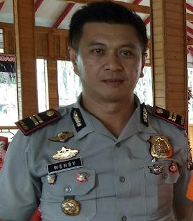 Kapolsek Tombatu IPTU. Winsy Saerang