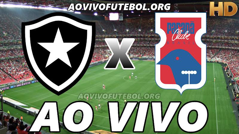 Botafogo x Paraná Ao Vivo Hoje em HD