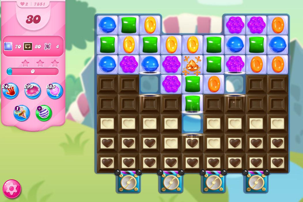 Candy Crush Saga level 7851
