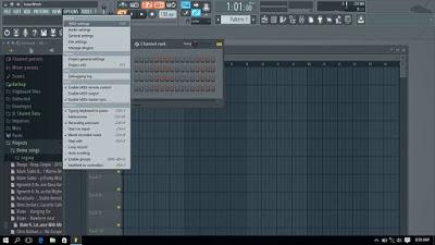 Cara setting MIDI pada aplikasi FL Studio