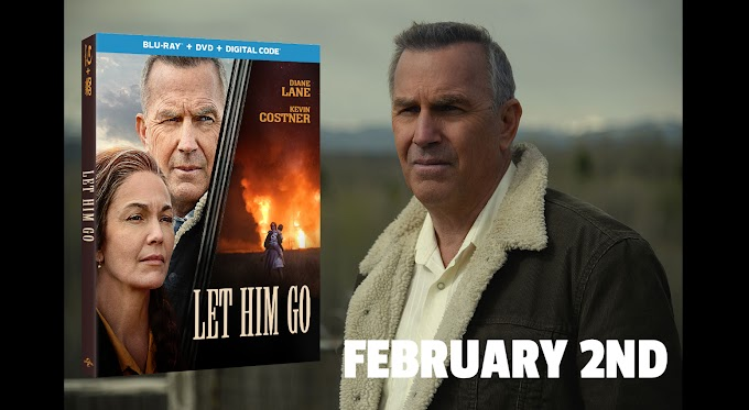 Diane Lane and Kevin Costner Star in LET HIM GO Available on  Blu-ray and DVD February 2nd (Universal)