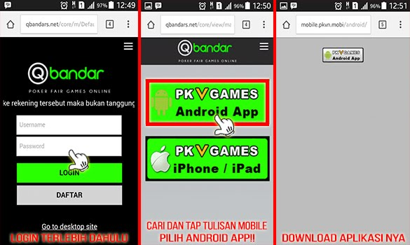 Cara Download Aplikasi PKV versi Android
