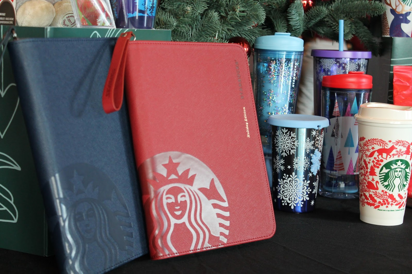 Starbucks Red Espresso Cup **2017 Christmas Edition**