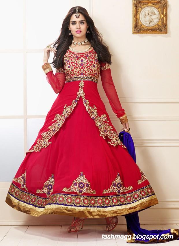 Indian Anarkali Umbrella Wedding-Brides-Bridal Party Wear ...