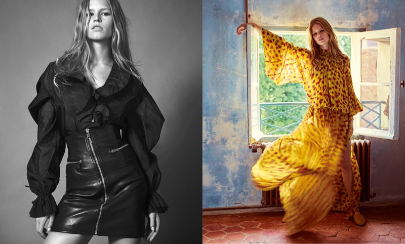 Mango's fall-winter 2017 campaign starring Anna Ewers