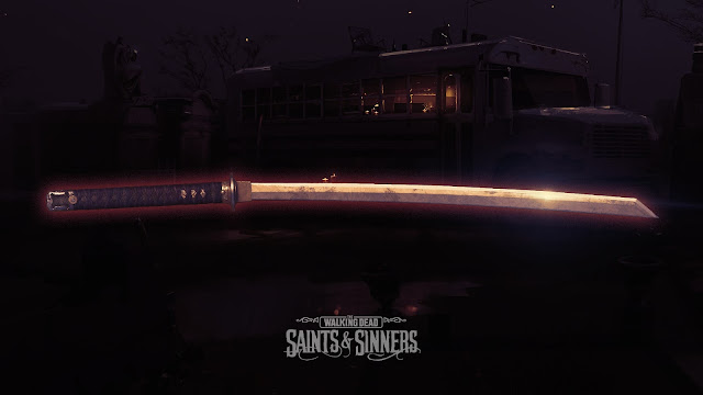 The Walking Dead: Saints & Sinners - La katana