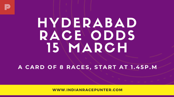 Hyderabad Race Odds 15 March