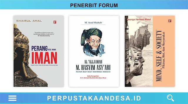 Daftar Judul Buku-Buku Penerbit Forum