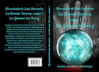 """Couverture de """"Le Novae Terrae, tome 1"""", de Bloodwitch Luz Oscuria"""