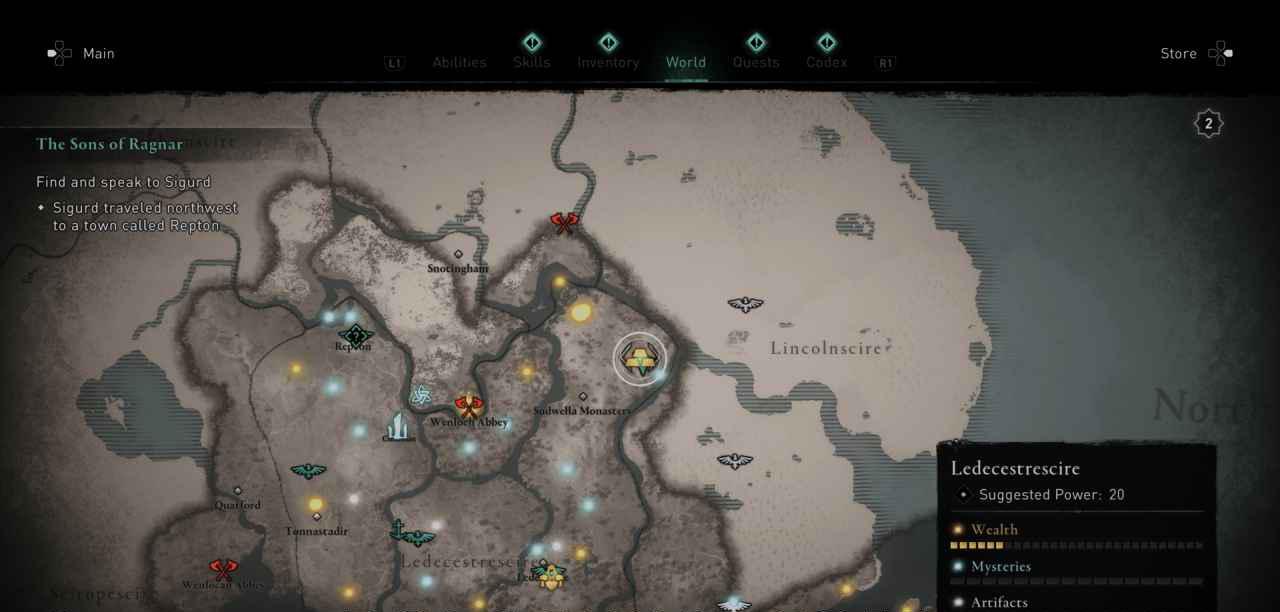 Ingot 16 Map