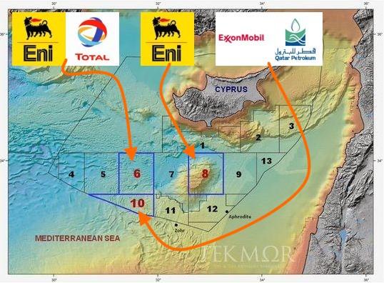 TEKMOR Monitor: ExxonMobil takes block 10 - IN CYPRUS
