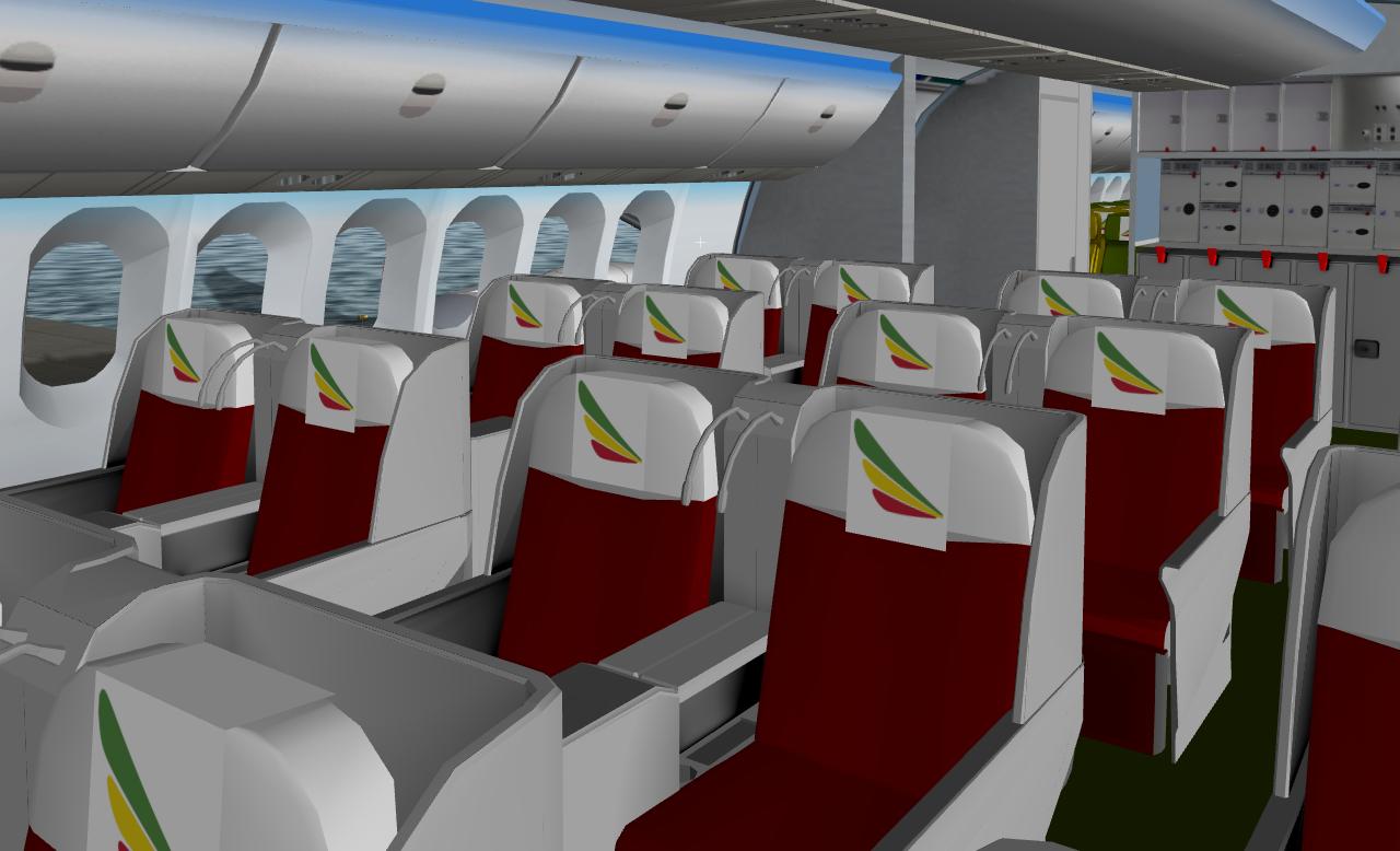 FSXP, a new Generation in X-plane Aircraft: Ethiopian 787