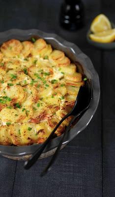 recette reconfortante , gratin d'hiver , plat familial