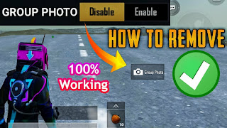 How to Disable Group Photo Option in PUBG MOBILE