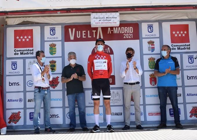 Elias Maris (Basso Team) ganó la 2ª etapa de la Vuelta a Madrid Sub23