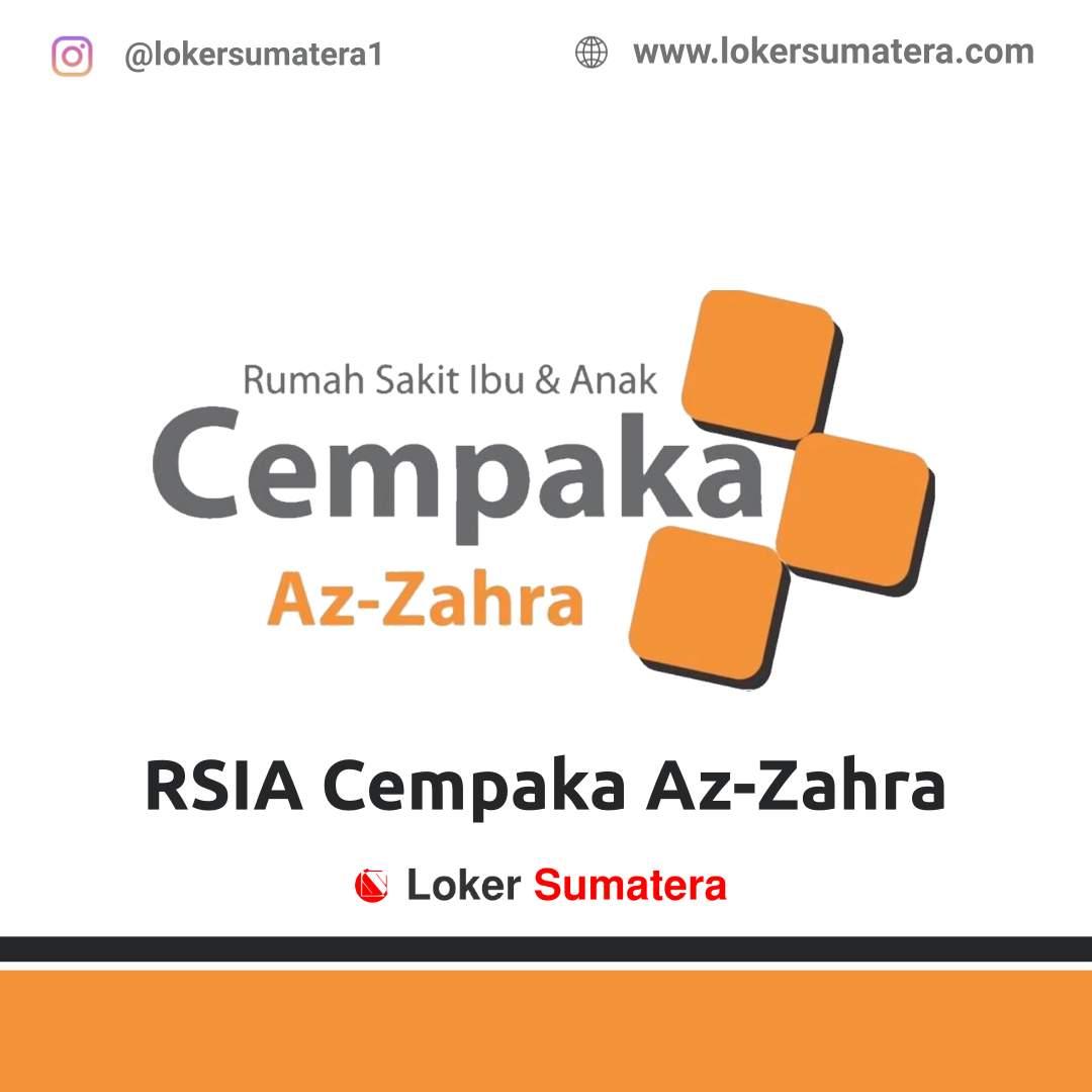 Lowongan Kerja Banda Aceh: RSIA Cempaka Az - Zahra Desember 2020