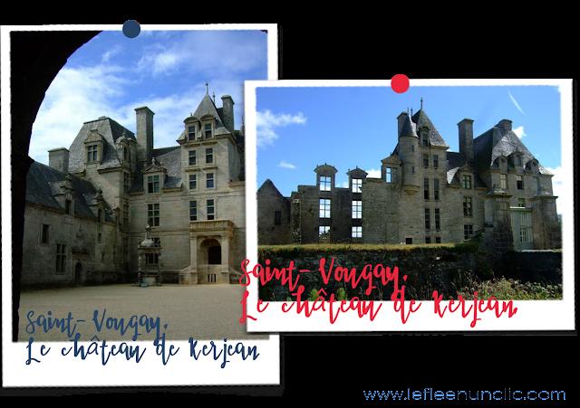 Voyage, culture, loisirs, France, la Bretagne et le Finistere nord, Saint-Vougay, Château de Kerjean