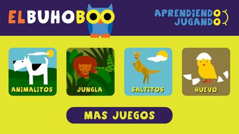 Apps educativas para niños: El búho Boo