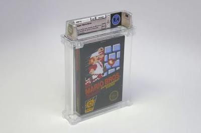 Kaset Game Super Mario Bros Paling Langka Terjual Rp 1,4 Miliar
