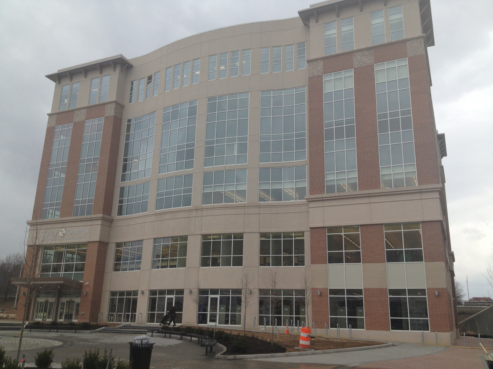 If You Re Not Familiar With The Area Library Is Located In Former Parking Lot Of Owings Mills Metro Subway