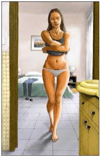 Flavia, 44 ans, est une camgirl