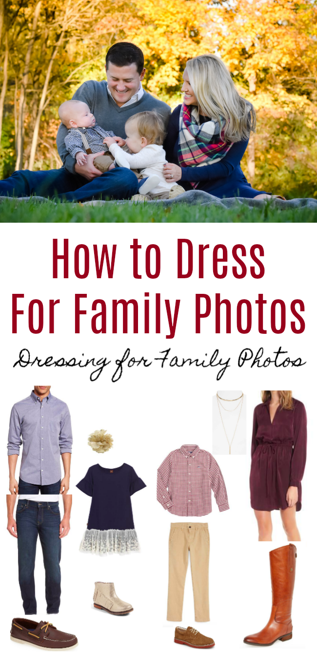 How to Dress for Family Photos